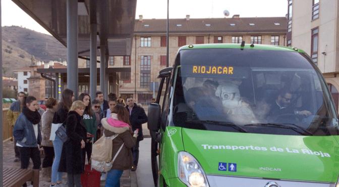 Programa de mantenimiento y mejora de las paradas de transportes de La Rioja