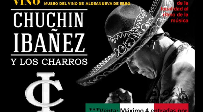 Chuchín Ibañez en el ciclo de tardes de música y vino