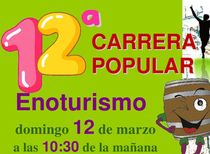 12ª Carrera popular enoturismo