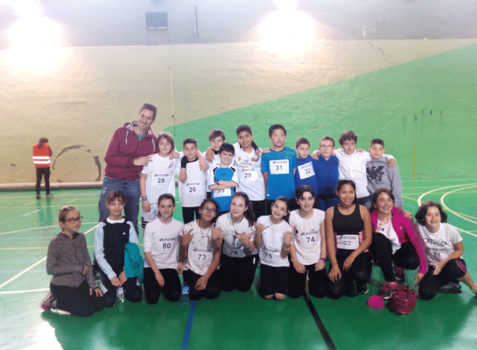 """El C.E.I.P Quintiliano finalista del programa escolar """"Jugando al atletismo"""""""