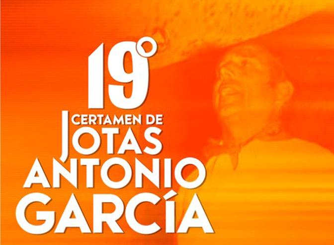 19º Certamen de Jotas Antonio garcía