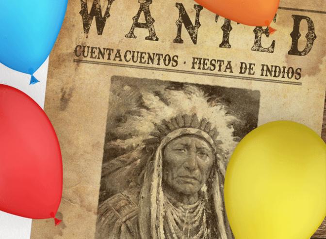 Fiesta de Indios: cuenta cuentos, canciones