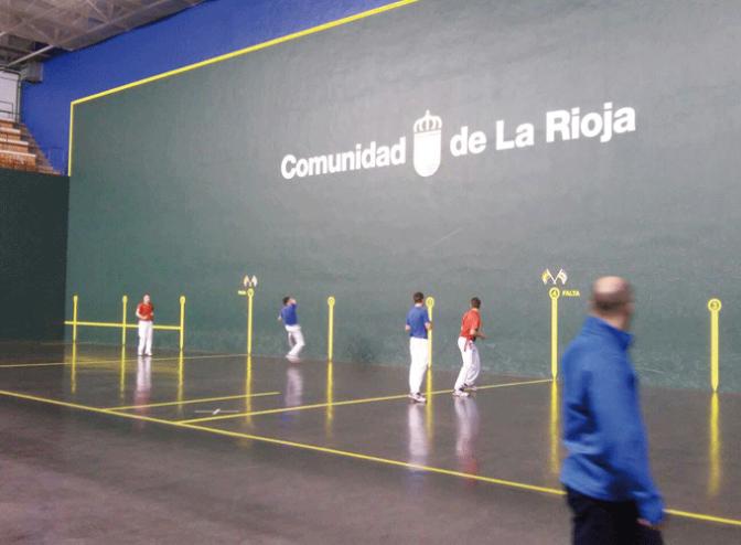 2 clubes riojanos en las finales del Campeonato de pelota de España de Clubes
