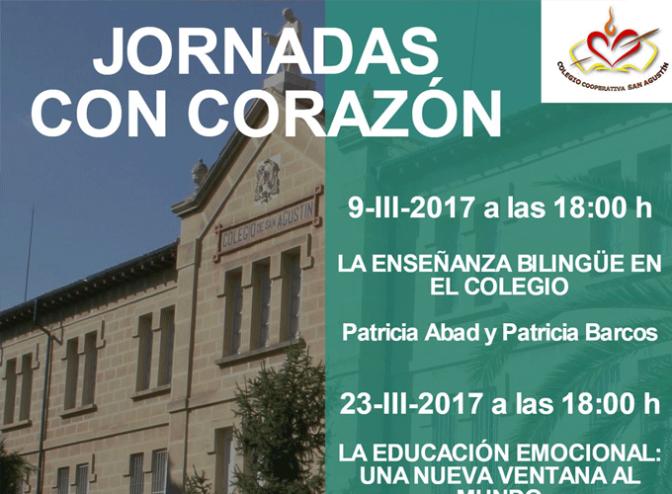 Mañana arrancan las 'Jornadas con corazón' de Agustinos con una charla sobre el programa bilingüe del centro