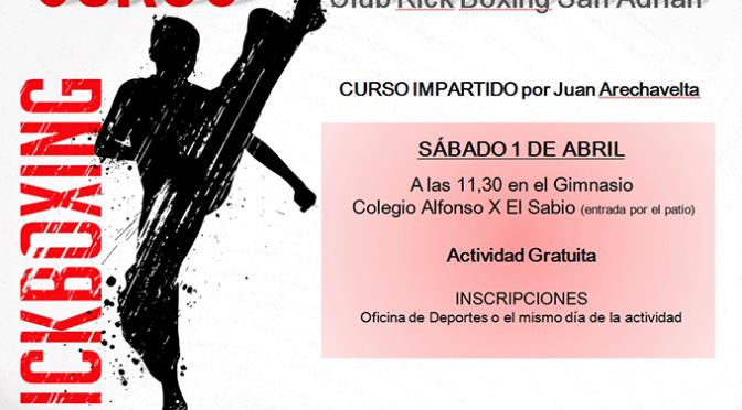 Curso de Kickboxing en San Adrián