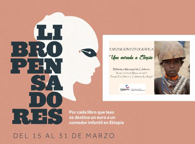 """Campaña solidaria """"Libropensadores: un libro, un euro"""""""