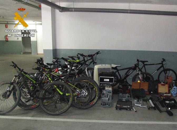 Dos detenidos en Calahorra por robos en garajes