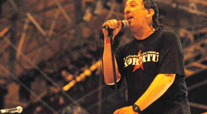 Concierto Josetxu Piperrak and The riber Rock Band
