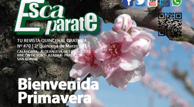 Ya es Primavera 🌺🌻🌹 en Escaparate 📲 Ya puedes leer ESCAPARATE CALAHORRA 2ª Quincena de Marzo😊