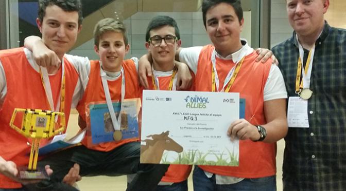 """El Instituto """"Marco Fabio Quintiliano"""" gana un premio nacional en la FLL"""