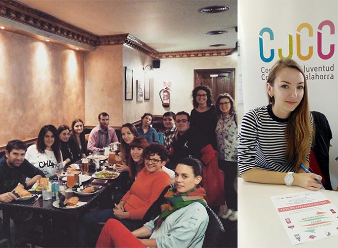 Llegada de una nueva voluntaria europea al CJCC