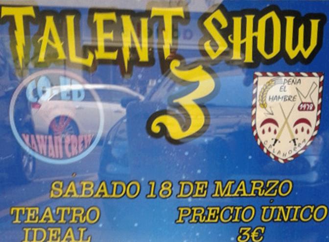III Talent Show Co-Ed Kawaii Crew Peña El Hambre