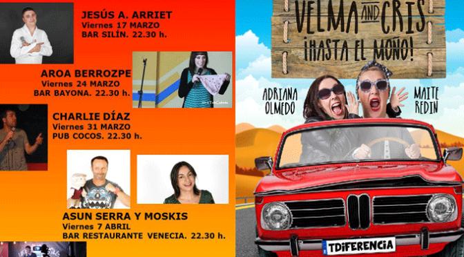 Este fin de semana en Azagra, comedia y teatro