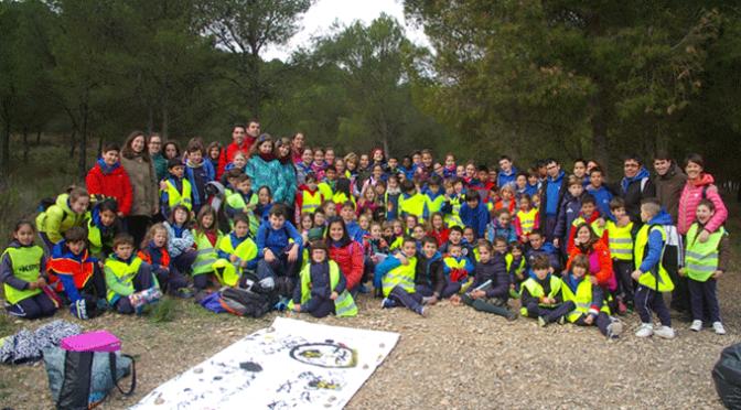 Los alumnos del Colegio Santa Teresa enriquecen la zona del Perdiguero