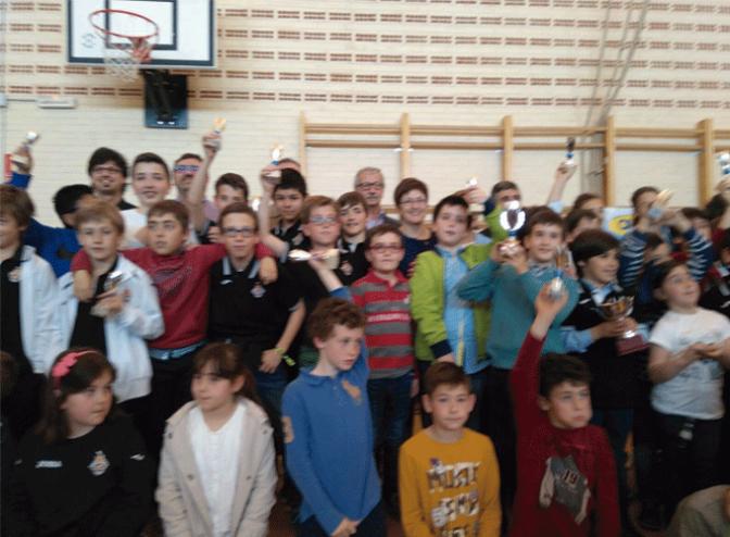 Celebrado el XVII torneo ajedrez promesas Alfaro