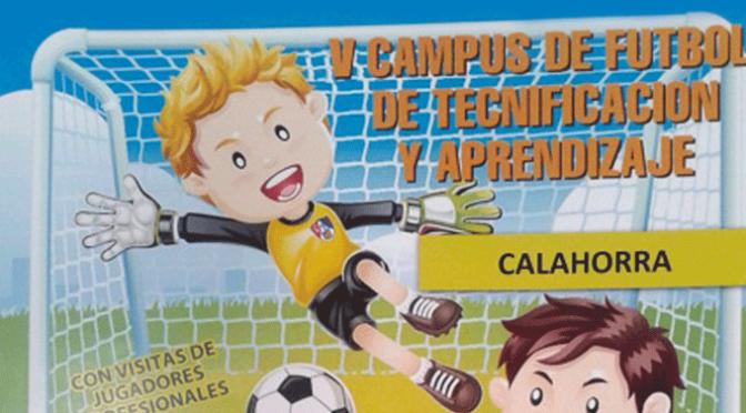 V Campus de fútbol de tecnificación y aprendizaje