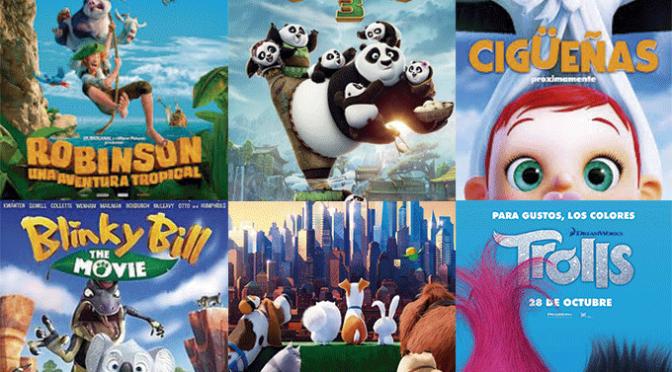 Ciclo de cine infantil con seis películas para Semana Santa
