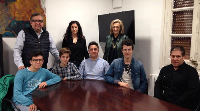 Los alumnos del IES Marco Fabio Quintiliano ganadores del primer premio a la Investigación del concurso nacional First Lego League