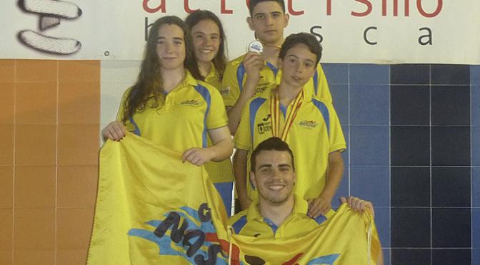Excelentes resultados para los nadadores del CN Nassica en el XXV Trofeo Ciudad de Huesca