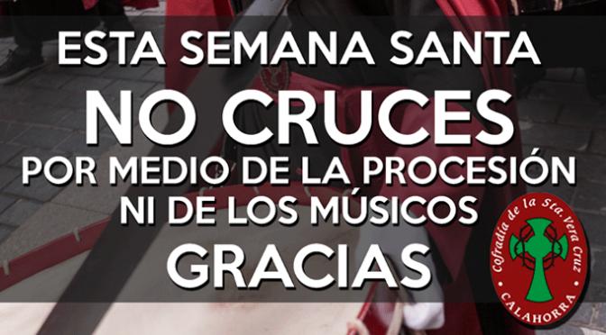 No cruces!!