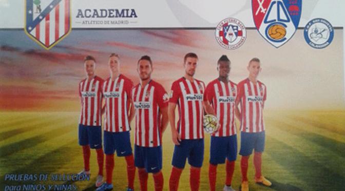 Prubas sselectivas por parte del Atlético de Madrid