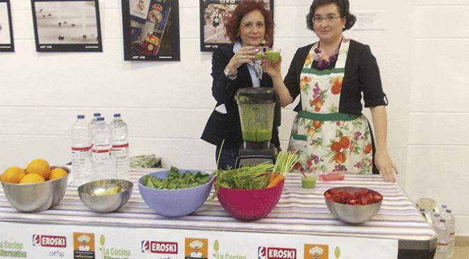 Charla y Showcooking con degustación de zumos verdes