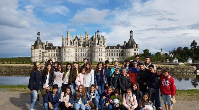Los alumnos de francés de Agustinos viajan a Poitiers y conocen el Valle del Loira y Futuroscope
