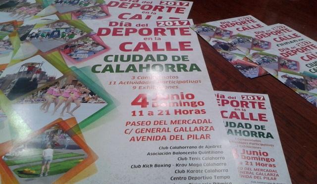 El Día del Deporte en la calle se celebra en Calahorra este domingo 4 de junio