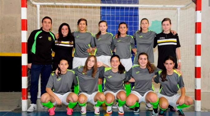 Aitana Ruiz en el campeonato de España de Fútbol Sala en categoría juvenil femenino
