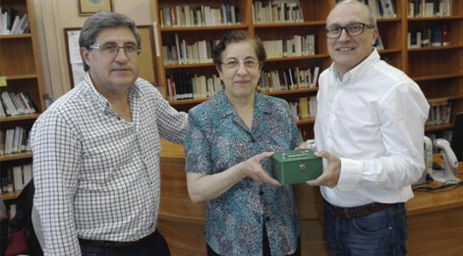 Más de 700€ entregados a Caritas gracias al Mercadillo Solidario de Libros