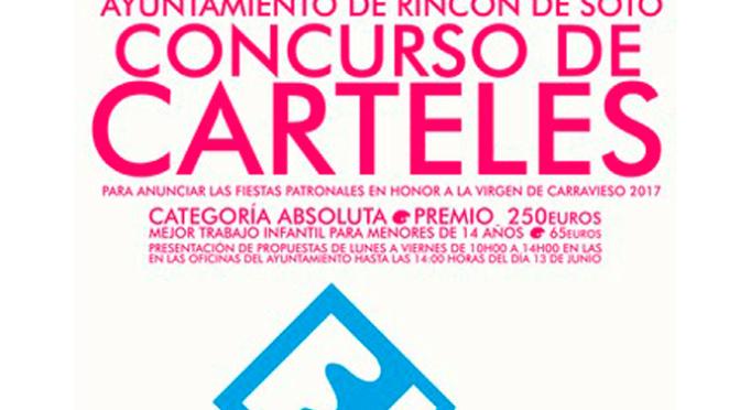 Concurso de Carteles de Fiestas en Rincón de Soto