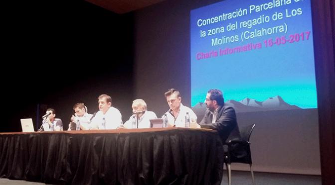 Proyecto de concentración parcelaria en la zona de regadío de Los Molinos