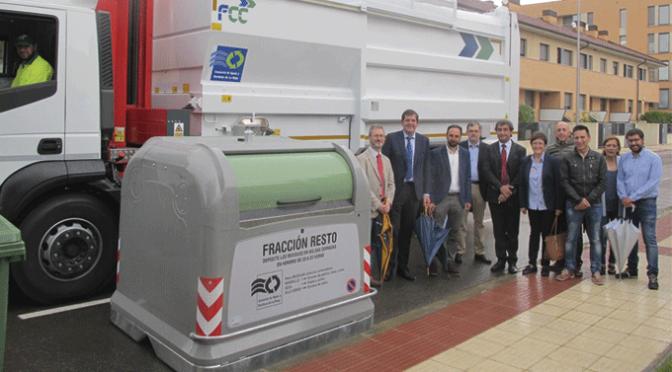 Nuevo servicio de recogida de residuos domésticos en la Rioja Baja