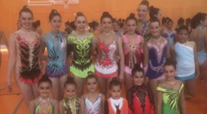El Club G.R.A.D. Agustinos de Calahorra en el clasificatorio de los juegos deportivos de gimnasia rítmica