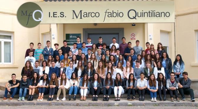 """Graduación de los alumnos de 2º de Bachillerato del I.E.S. """"Marco Fabio Quintiliano"""""""