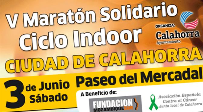 """El paseo del Mercadal acogerá el V Maratón solidario de ciclo indoor """"Ciudad de Calahorra"""", sino llueve"""