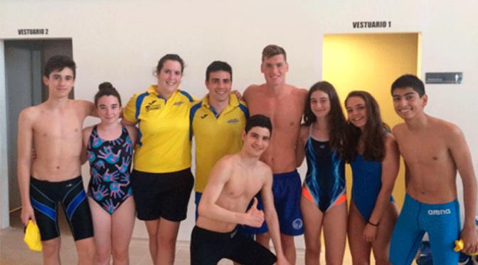 Ocho nadadores del CN Nassica en la final del 2º Trofeo Fiora