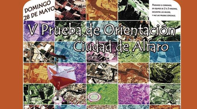 V Prueba de orientación Ciudad de Alfaro