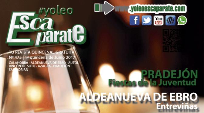 👉 Ya está aquí Escaparate 1ª Quincena de Junio 📲 #yoleoescaparate