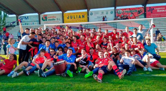 ⚽⚽Enhorabuena al 🔴CD Calahorra🔴 que por 2 Año consecutivo ha quedado 🏆 campeon de 3ª División del Grupo XVI