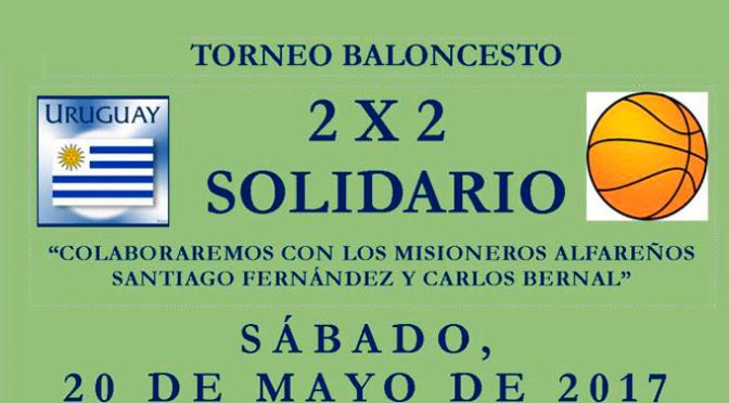 Torneo de Baloncesto 2×2 Solidario
