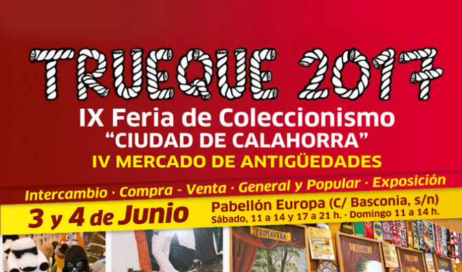 """Que la fuerza te acompañe"" en la  IX Feria de coleccionismo Trueque 2017"