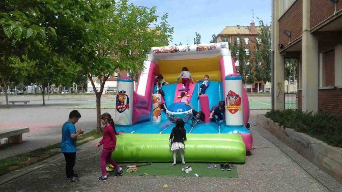 Paellada en el colegio Quintiliano de Calahorra