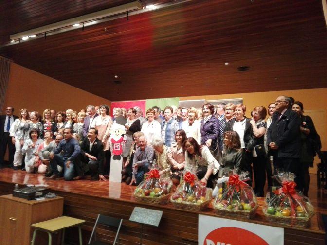 Enhorabuena a los alumnos de la Universidad de la experiencia que el viernes disfrutaron de una jornada festiva