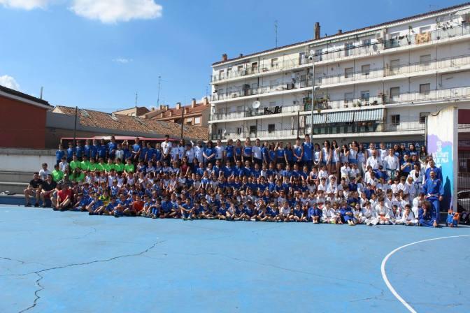 Jornadas del deporte, cultura y familia en el Colegio Teresianas de Calahorra
