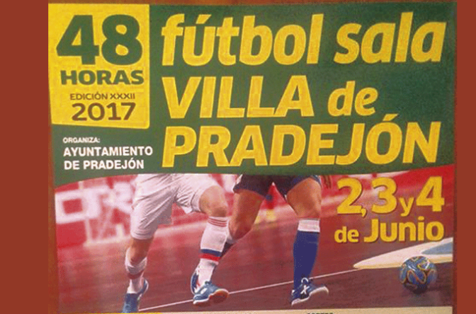 Edición XXXII de las 48 horas de Futbol Sala Villa de Pradejón