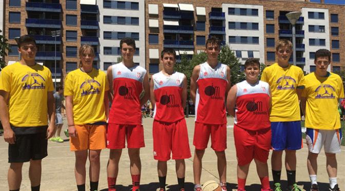 ABQ gana el 3×3 streetball de Peralta y el 3×3 Interbarrios de Logroño