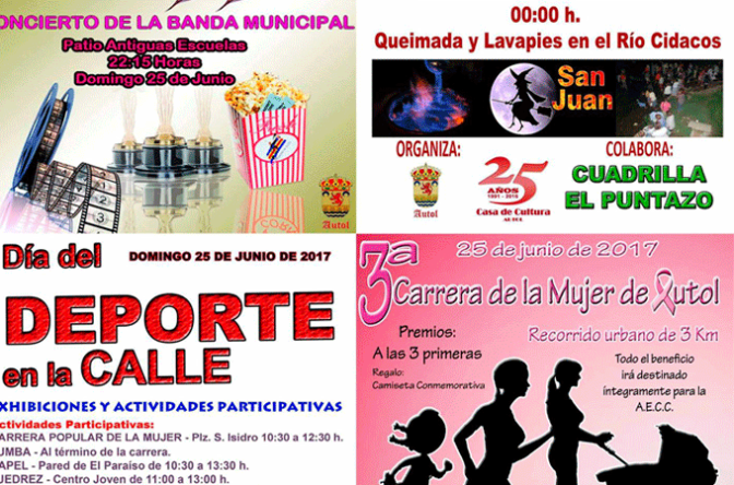 San Juan, deporte, concierto de la banda… Este fin de semana en Autol