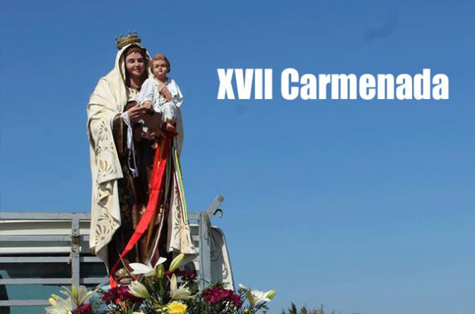 El domingo 2 de Julio XVII Carmenada