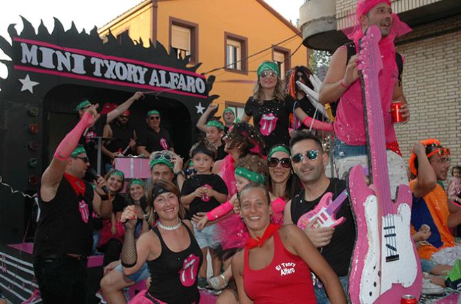 Bases para el desfile de carrozas de Fiestas de San Roque y San Ezequiel